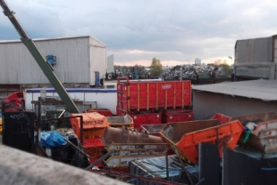 Waste facilities are a factor in the high PM10 levels in Neasden