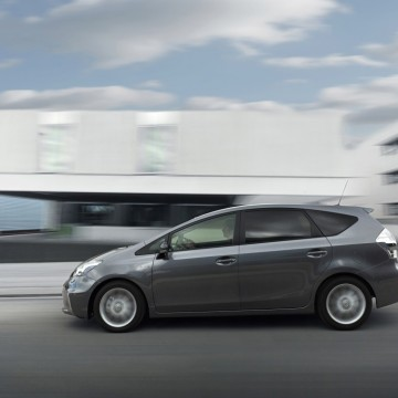 Europeans are increasingly buying cars such as the Toyota Prius which produce less emissions