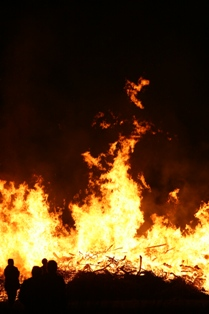 Emissions from bonfires in 2012 were higher than in previous years, according to Paul Willis