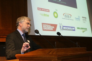 Speakers at the event included Imperial College Professor and Committee on Climate Change member Jim Skea
