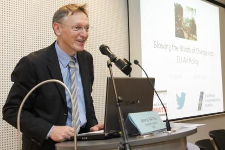 Jan Potočnik, European Commissioner for the Environment, said Europeans had called for the EU to act on air pollution (© European Union, 2013)