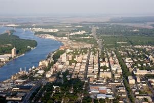 Savannah, Georgia, in the US has adopted various voluntary measures to meet air pollution standards