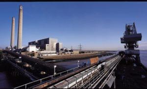 Tilbury Power Station in Essex