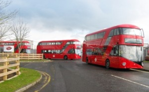 Four hybrid buses with wireless charging technology will run on the Canning Town to Walthamstow route from next year