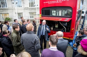 Eminox's Steve Rawson explains how buses are retrofitted with SCR technology to reduce emissions
