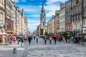 Edinburgh council is seeking to make busy shopping streets more pedestrian-friendly