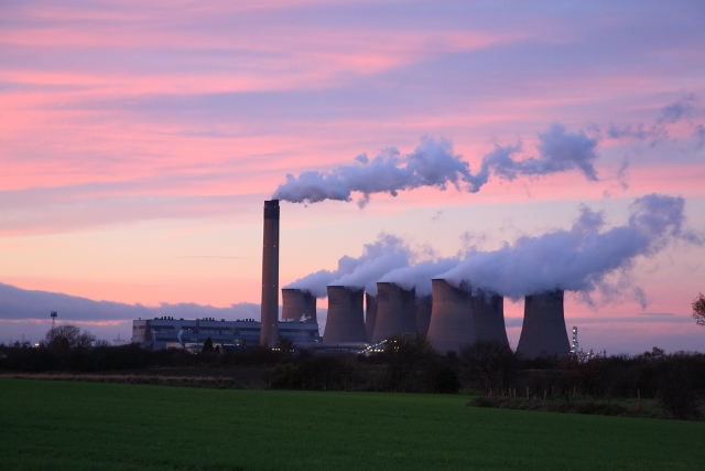 Drax coal power station in Selby, UK.