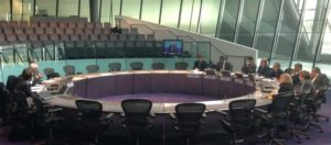 The London Assembly environment committee meeting yesterday (November 6)