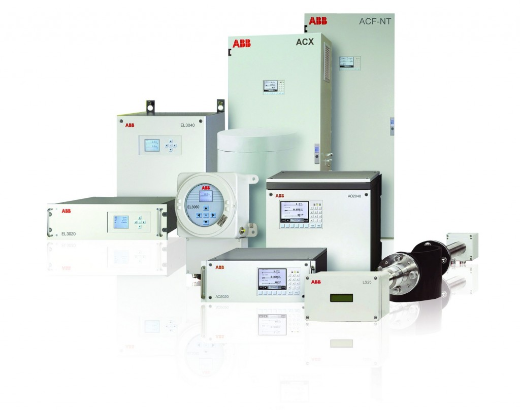 The ABB range of equipment