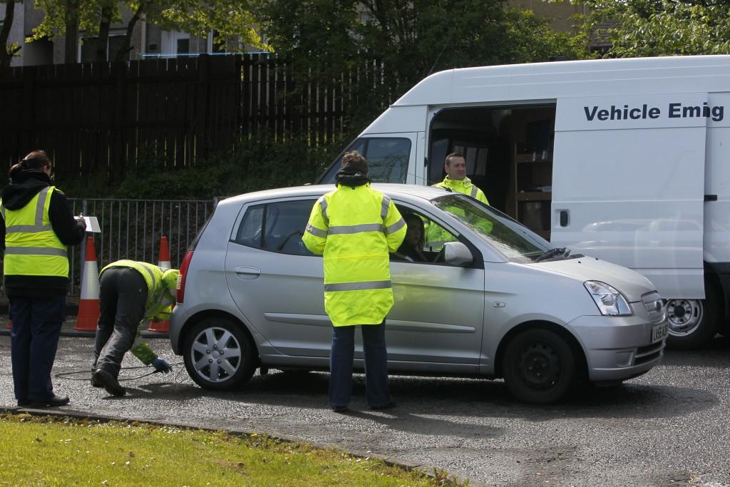 South Lanarkshire Emissions Testing