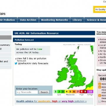 Defra's UK Air website came back online today (May 13) after it was hacked five weeks ago