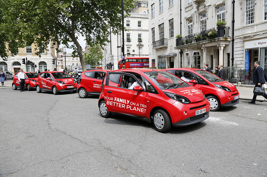 The electric vehicles are expected to be officially rolled out as part of the Source London scheme from early next year