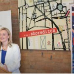 Secretary of State Liz Truss speaking at the Unruly event in Shoreditch (picture: Defra/Flickr)