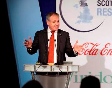 Scottish Environment Secretary, Richard Lochhead