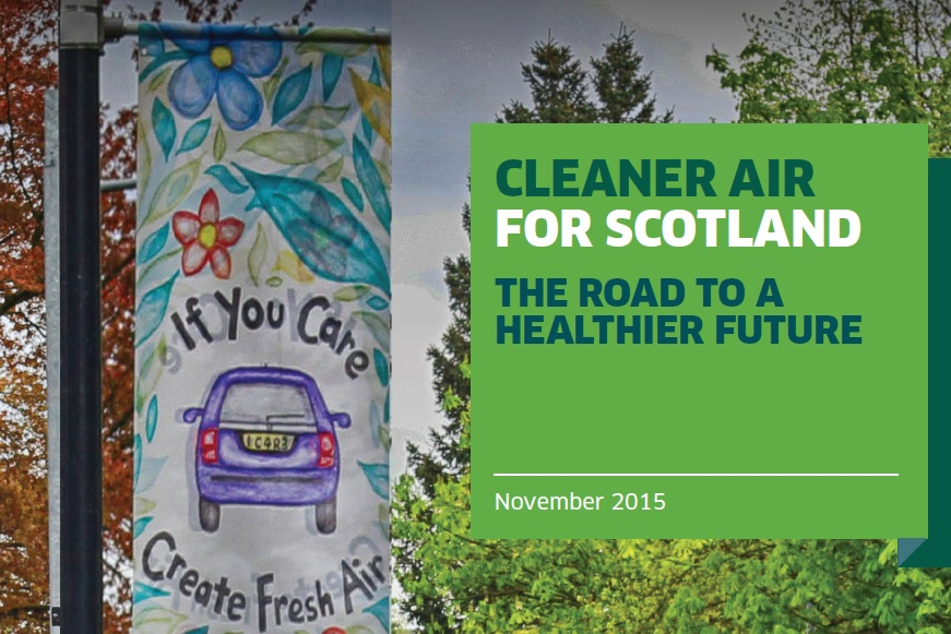 Scotland's Clean Air Strategy was published this week (November 4)