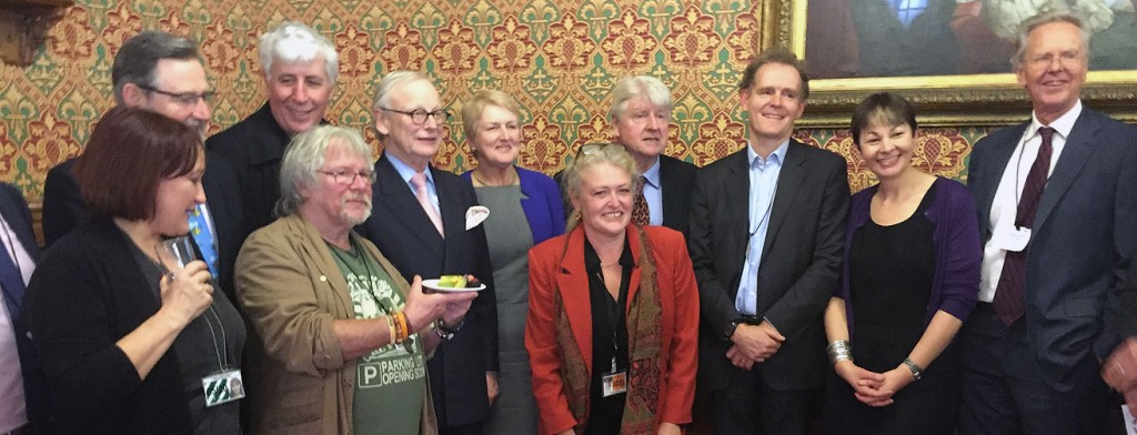 Members and supporters of the new E4E campaign group pictured at its launch this week (photo: E4E)