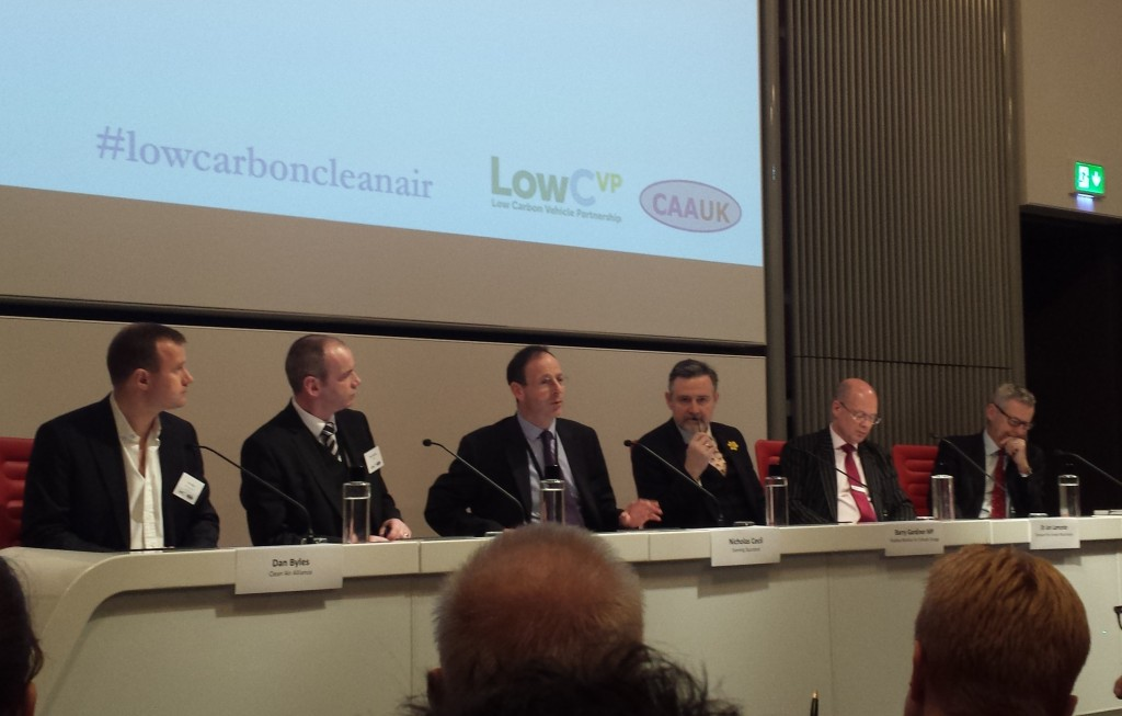 A seminar was held to mark the launch of the joint initiative in Westminster: (L-R)
