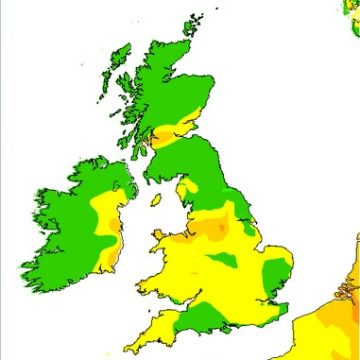 Air pollution forecast May 6