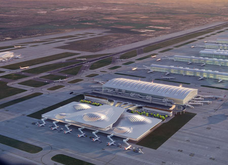 Zaha Hadid's vision for the third runway at Heathrow