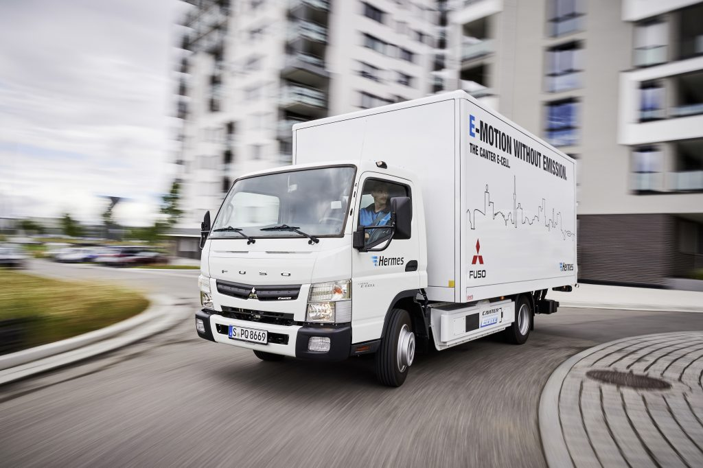 Mercedes launches fully electric heavy truck air quality for Mercedes benz semi trucks