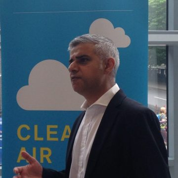 Sadiq Khan, at the Air Quality Plan consultation launch today (5 July)