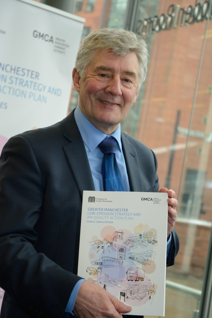 "Tony Lloyd, interim mayor of Greater Manchester, said it is ""imperative"" the city acts to tackle air pollution"