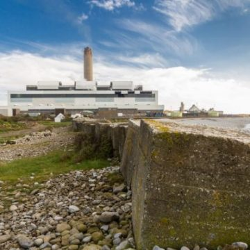 The Aberthaw Power Station in south Wales