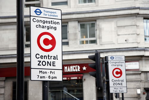 congestion pullution london ULEV
