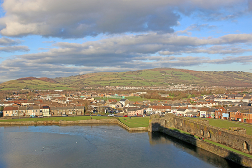 The proposed plant was located near Caerphilly, south Wales.