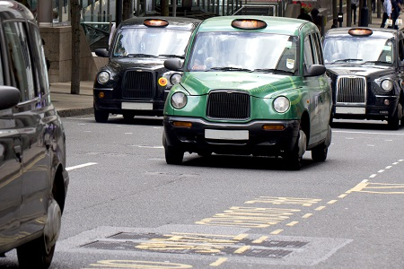 London's iconic Black Cab company rebrands for electric future