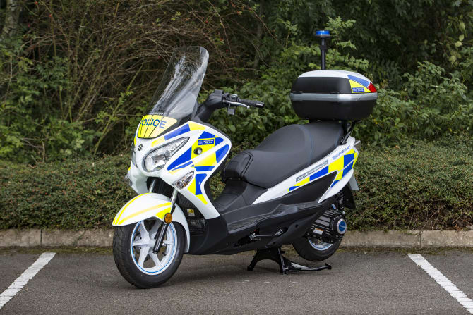 Met Police to trial fuel cell Suzuki Burgmans
