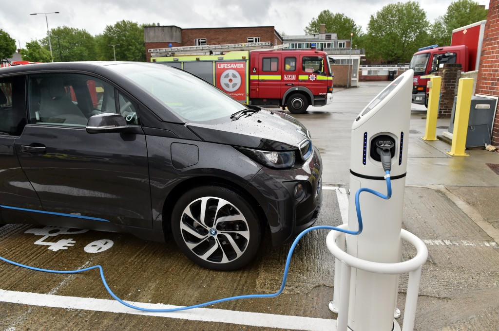 London Fire Brigade Opens Vehicle Charge Points