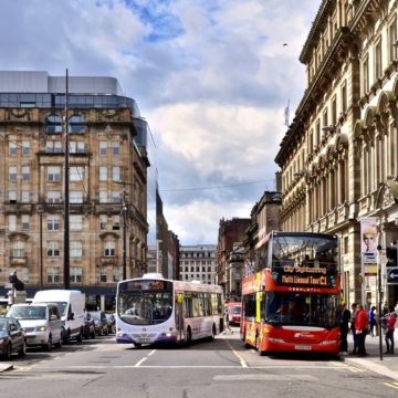 Glasgow bus air quality