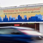 Southampton air quality billboard