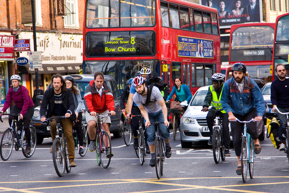 cycling in London air quality