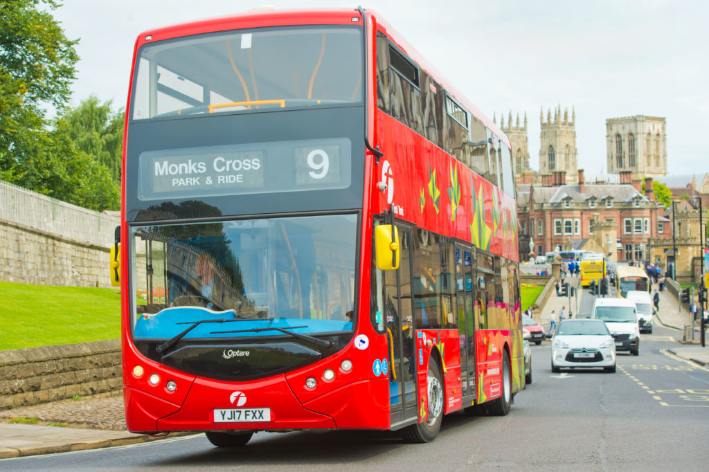 York to get 21 new electric buses
