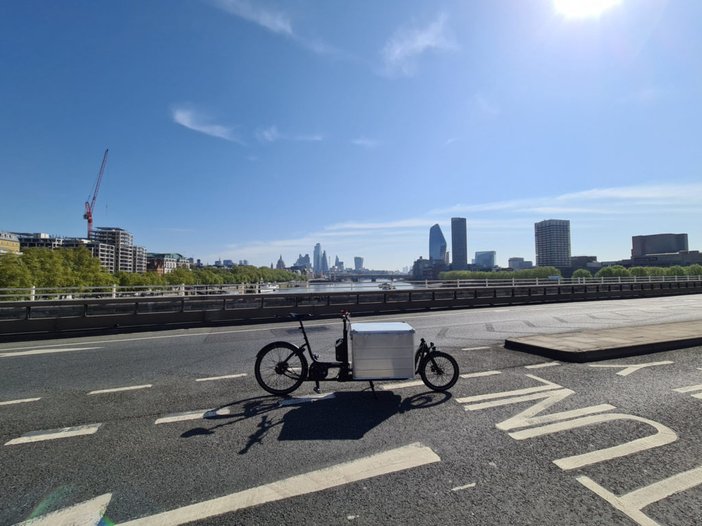 New clean air project in London